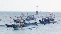Kedonganan Fishermen ready to go to sea.